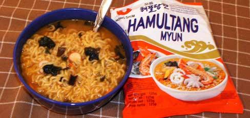 Chinesische Instant Suppe
